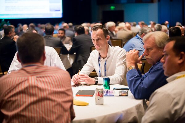 Roundtables encourage collaboration between different market segments.