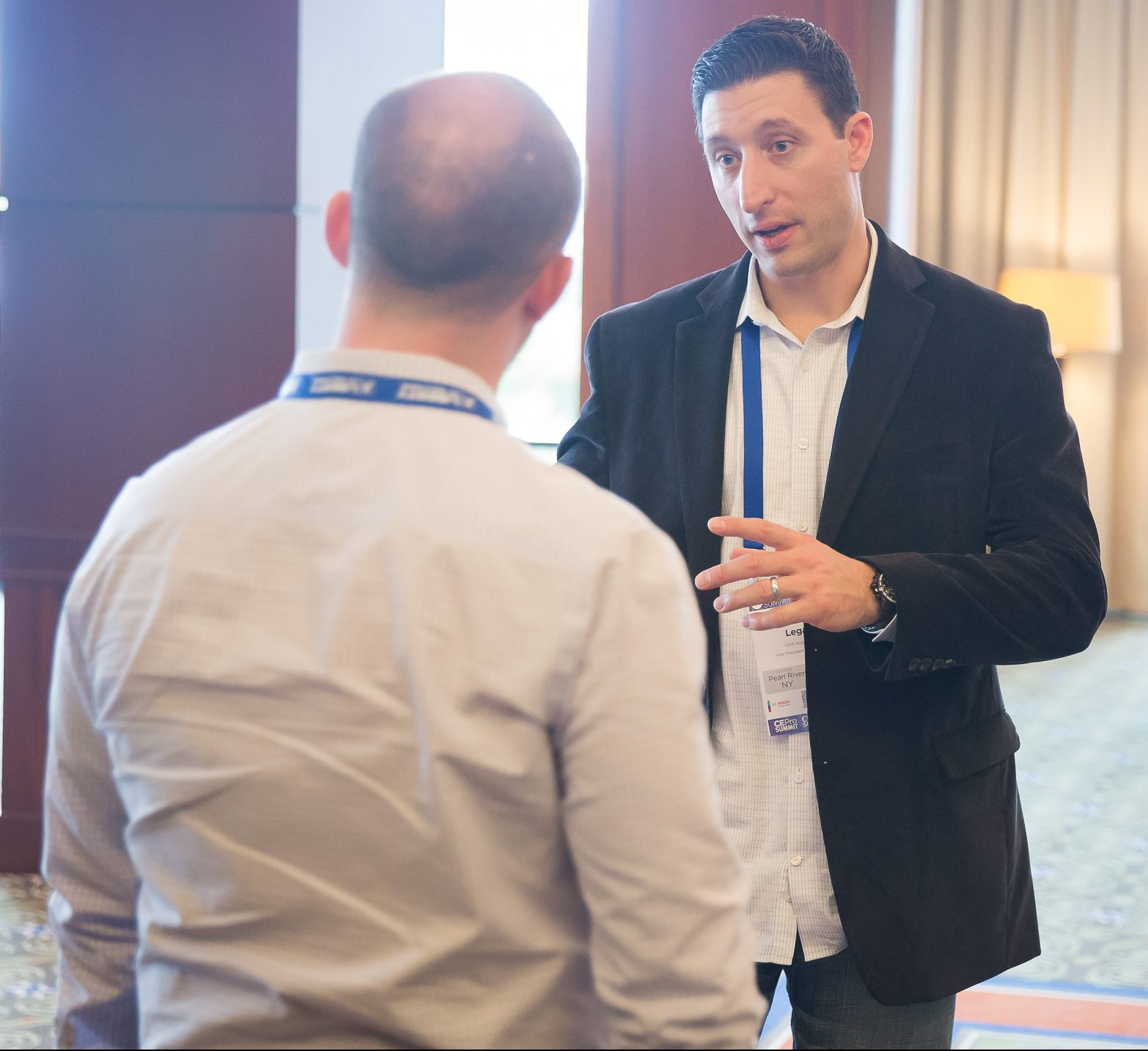 Joe Legato says the networking opportunities at the CI Summit make it one of his favorite events.